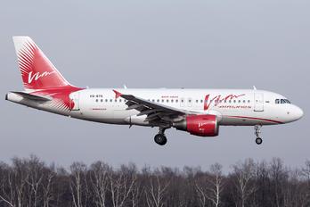 VQ-BTK - Vim Airlines Airbus A319