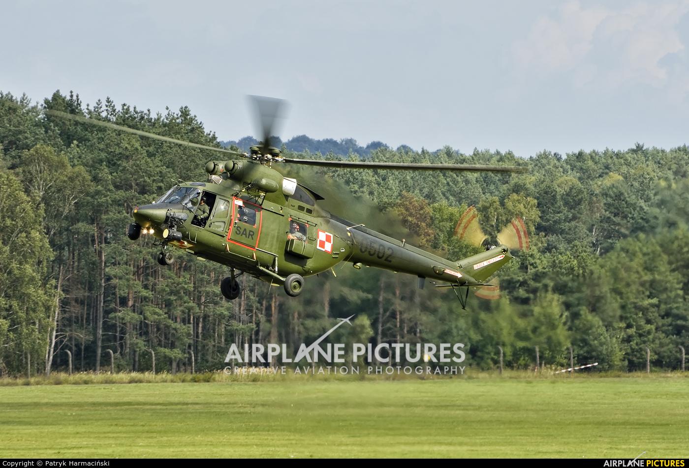 Poland - Air Force 0502 aircraft at Mirosławiec