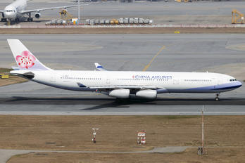 B-18807 - China Airlines Airbus A340-300