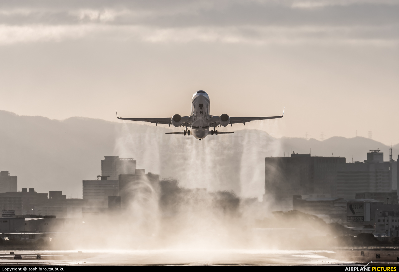 ANA - All Nippon Airways JA78AN aircraft at Osaka - Itami Intl