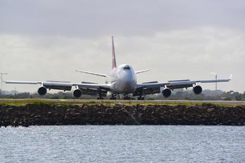 VH-OJM - QANTAS Boeing 747-400
