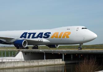 N854GT - Atlas Air Boeing 747-8F