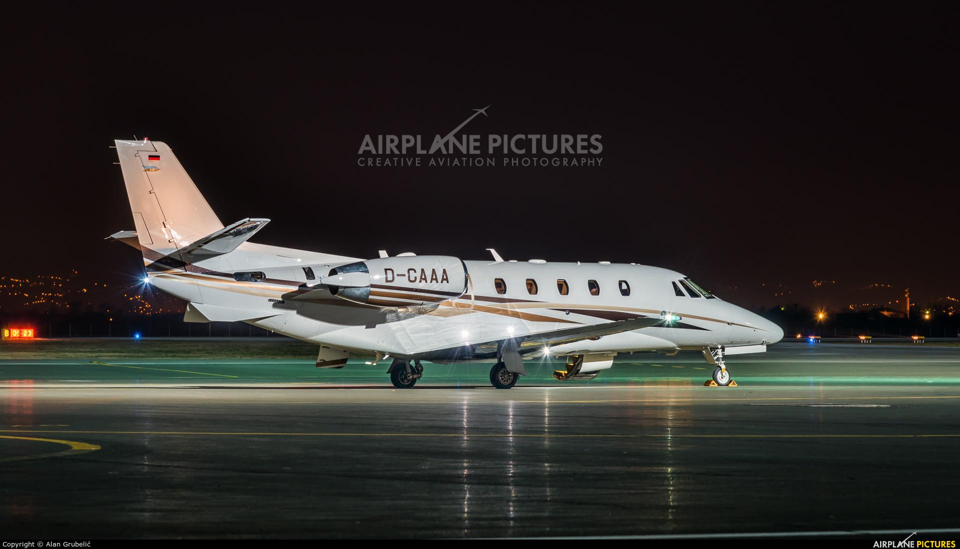 DC Aviation D-CAAA aircraft at Zagreb