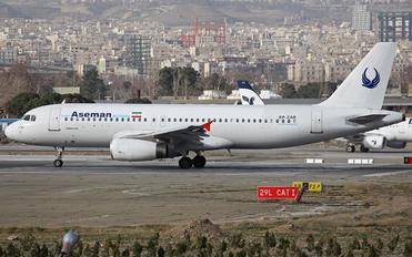 EP-ZAR - Iran Aseman Airbus A320