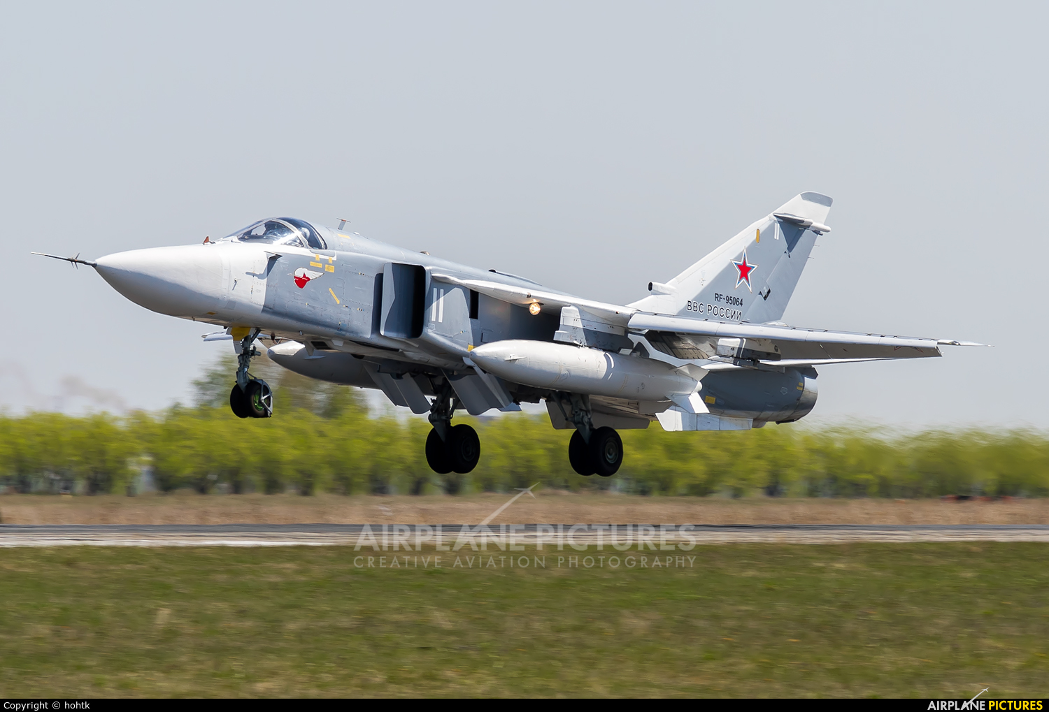 Russia - Air Force RF-95064 aircraft at Undisclosed Location