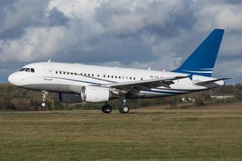 OE-ICE - Jet Aliance Airbus A318 CJ