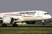 XA-AMR - Aeromexico Boeing 787-8 Dreamliner aircraft