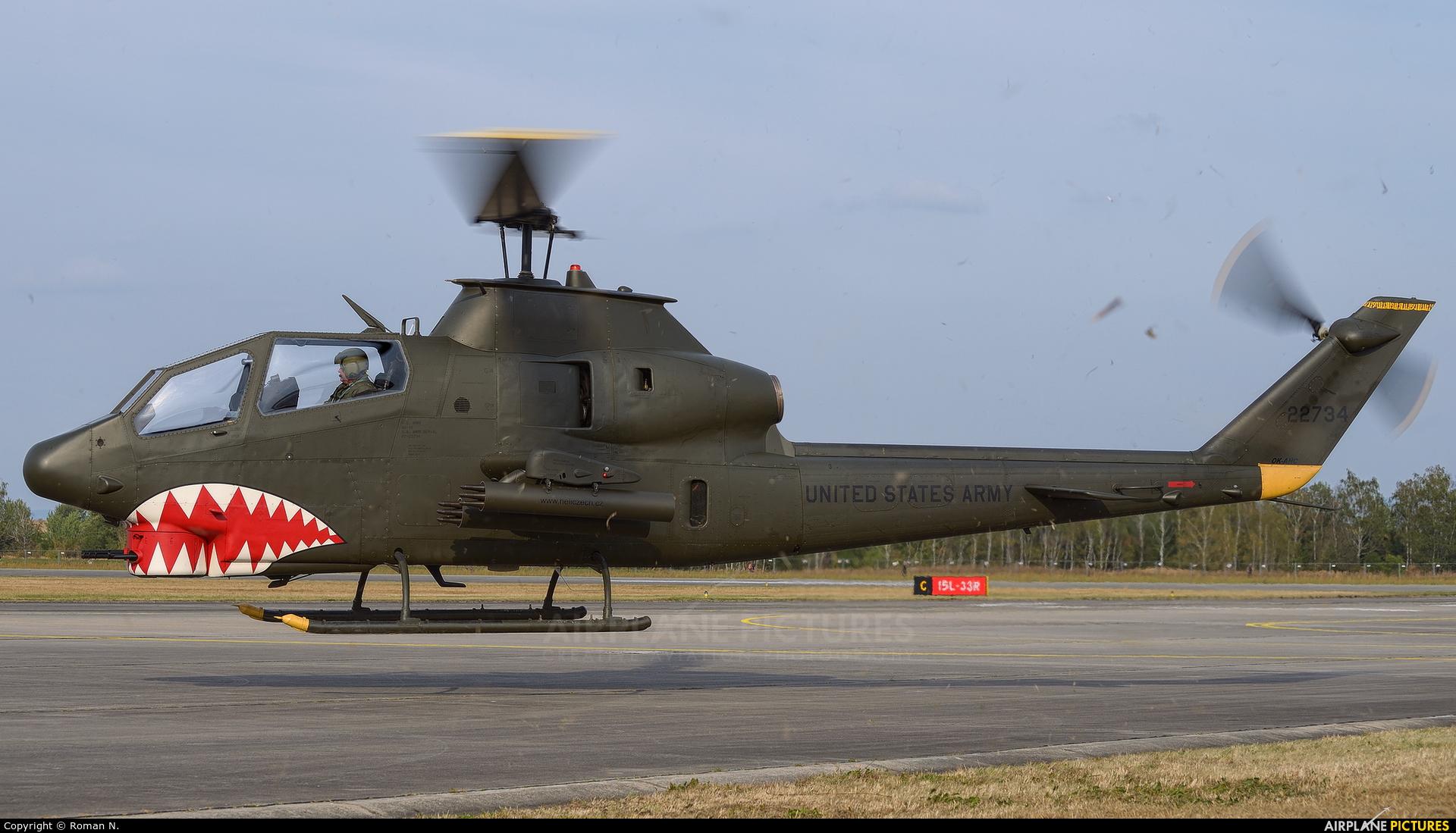 Heli Czech OK-AHC aircraft at Hradec Králové