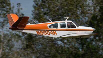 N8504M - Private Beechcraft 35 Bonanza V series