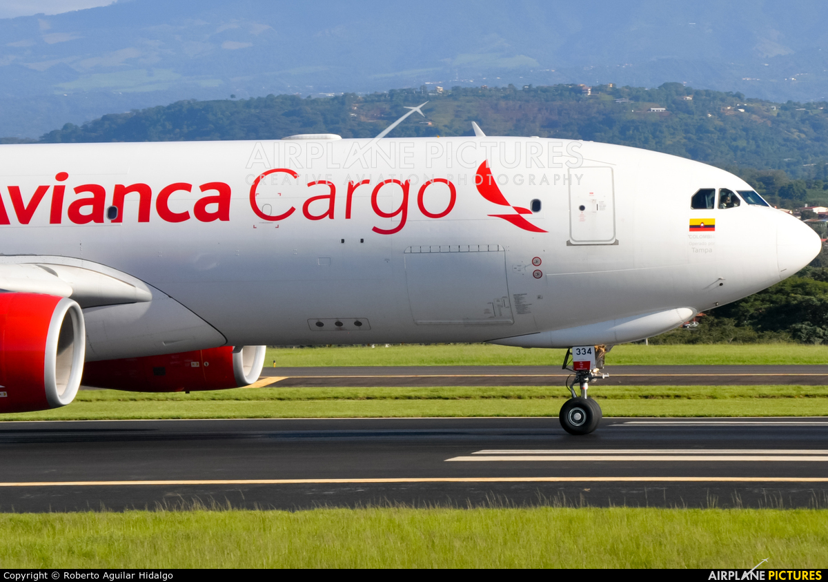 Avianca Cargo N334QT aircraft at San Jose - Juan Santamaría Intl
