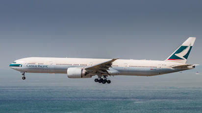 B-KWQ - Cathay Pacific Boeing 777-300ER