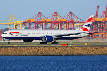 G-STBF - British Airways Boeing 777-300ER