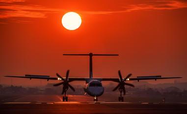 JA847C - JAL-  Japan Air Commuter de Havilland Canada DHC-8-400Q / Bombardier Q400