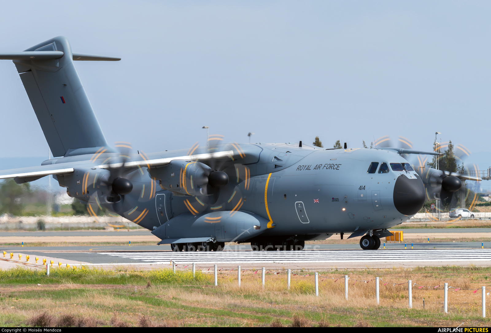 Royal Air Force ZM414 aircraft at Seville - San Pablo