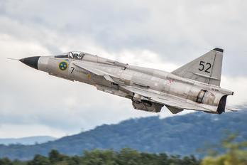 SE-DXN - Swedish Air Force Historic Flight SAAB AJS 37 Viggen