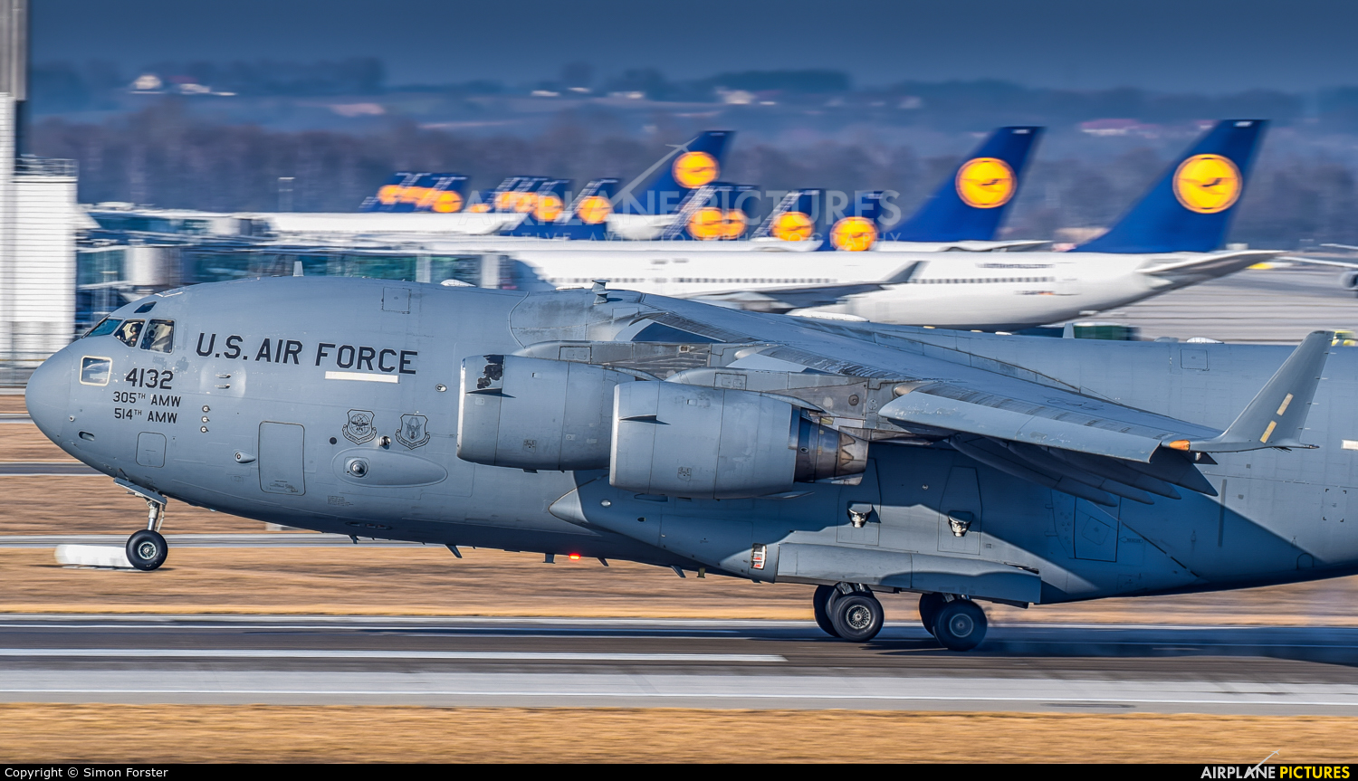USA - Air Force 44132 aircraft at Munich