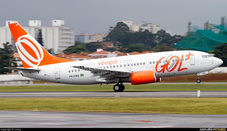 GOL Transportes Aéreos  PR-VBQ aircraft at São Paulo - Congonhas