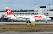 HB-JBF - Swiss Bombardier CS100 aircraft