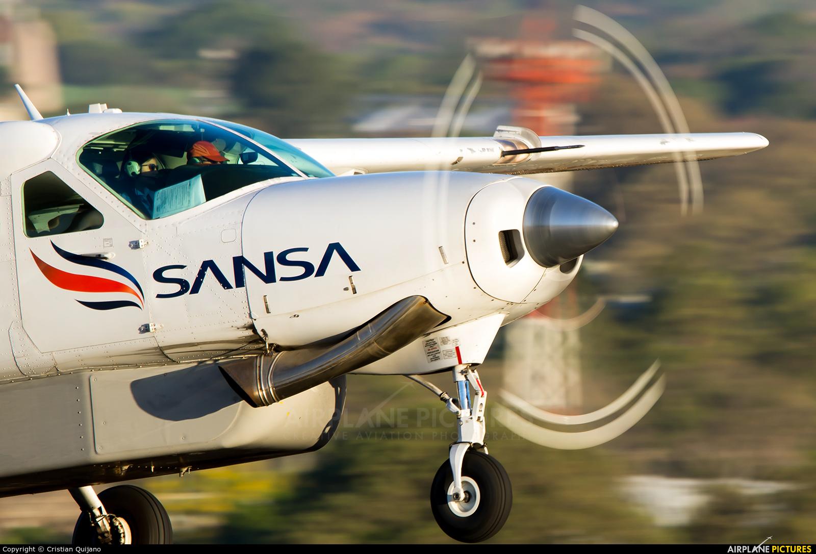 Sansa Airlines TI-BDY aircraft at San Jose - Juan Santamaría Intl
