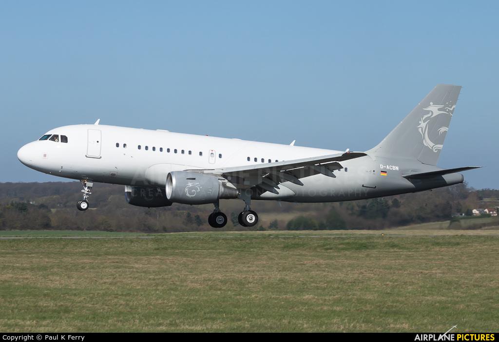 DC Aviation D-ACBN aircraft at London - Luton