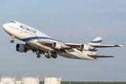 4X-ELC - El Al Israel Airlines Boeing 747-400 aircraft