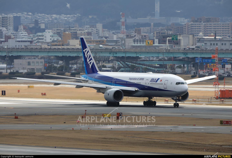 ANA - All Nippon Airways JA714A aircraft at Fukuoka