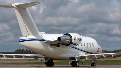 VP-BJE - Private Canadair CL-600 Challenger 604