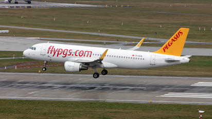 TC-DCB - Pegasus Airbus A320
