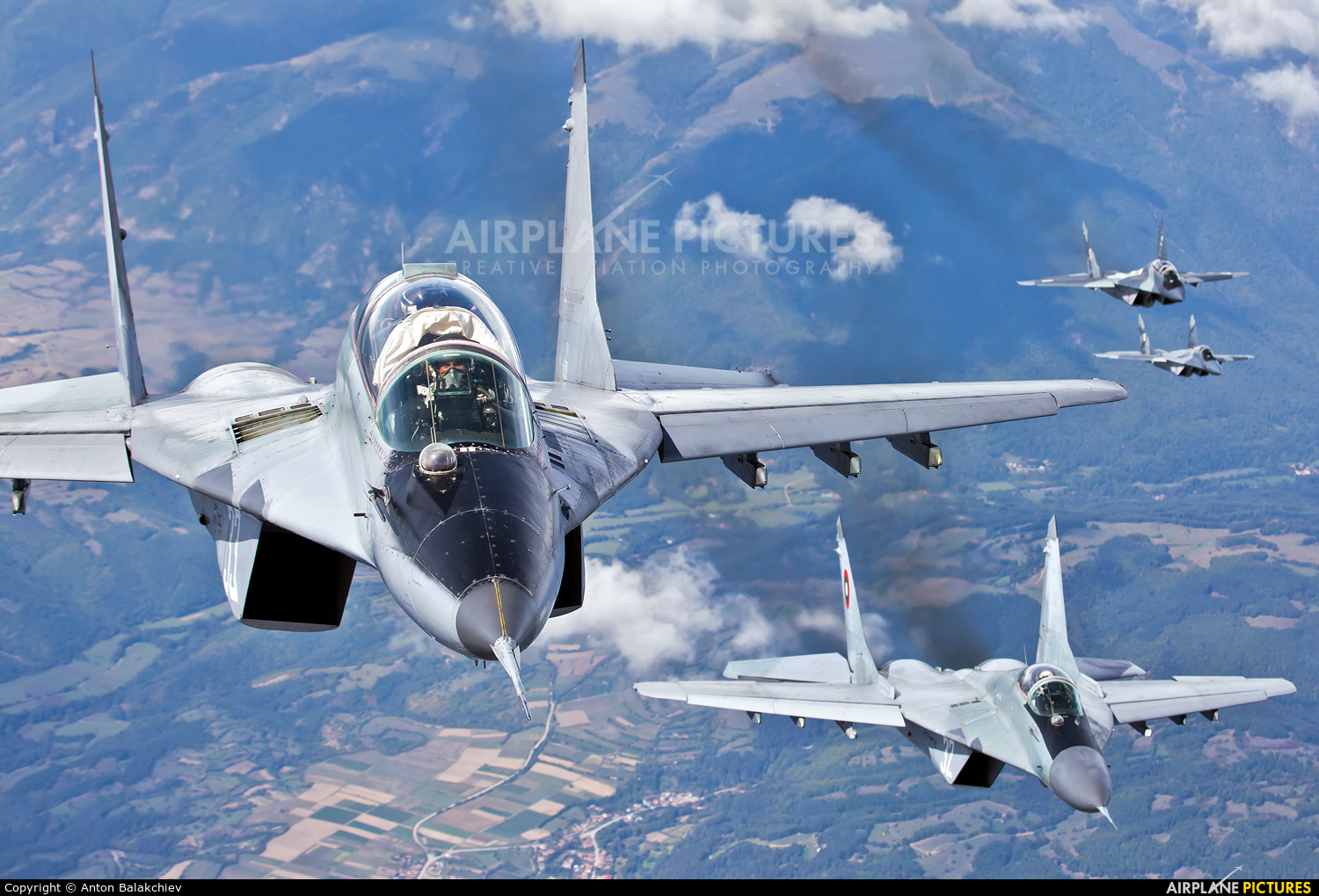 Bulgaria - Air Force 33 aircraft at In Flight - Bulgaria