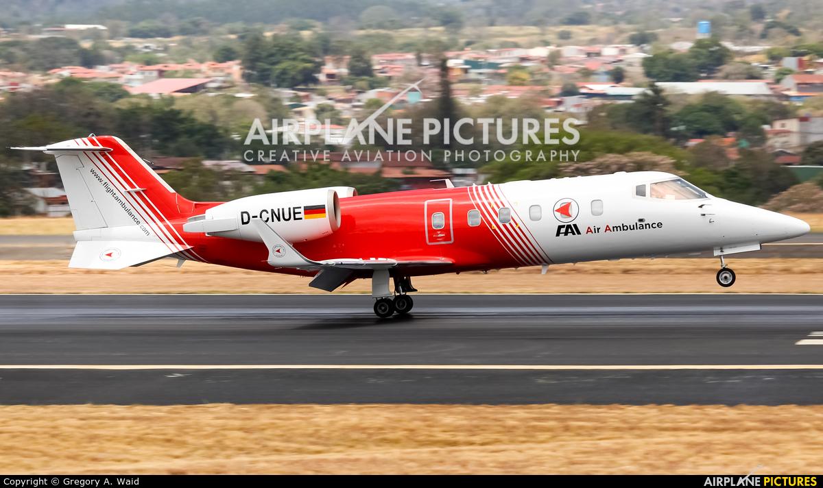 FAI - Flight Ambulance International D-CNUE aircraft at San Jose - Juan Santamaría Intl