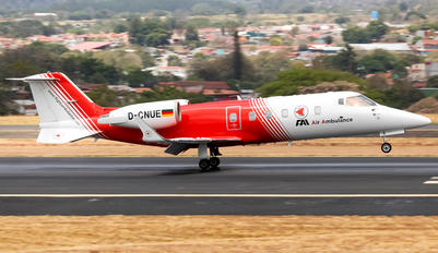 D-CNUE - FAI - Flight Ambulance International Bombardier Learjet 60
