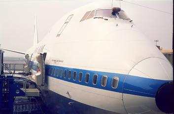 N656PA - Pan Am Boeing 747-100
