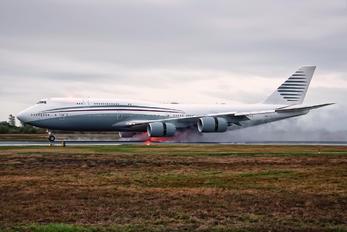 A7-HBJ - Qatar Amiri Flight Boeing 747-8 BBJ