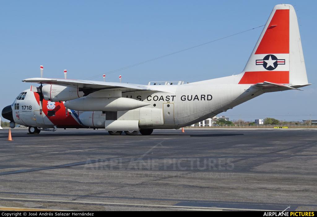USA - Coast Guard 1718 aircraft at San Jose - Juan Santamaría Intl