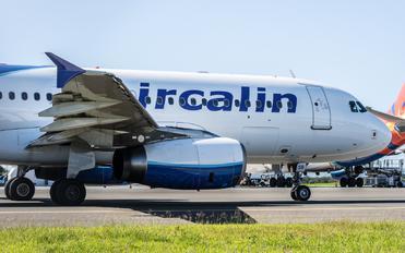 F-OJSB - Aircalin Airbus A320