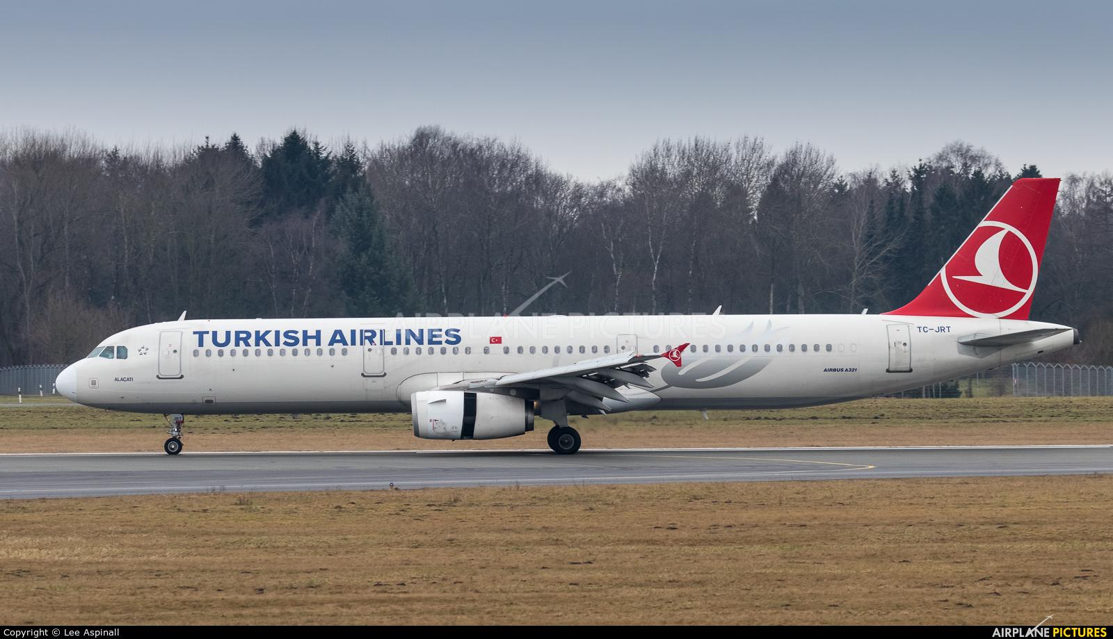 Turkish Airlines TC-JRT aircraft at Hamburg - Fuhlsbüttel