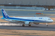 JA113A - ANA - All Nippon Airways Airbus A321 aircraft