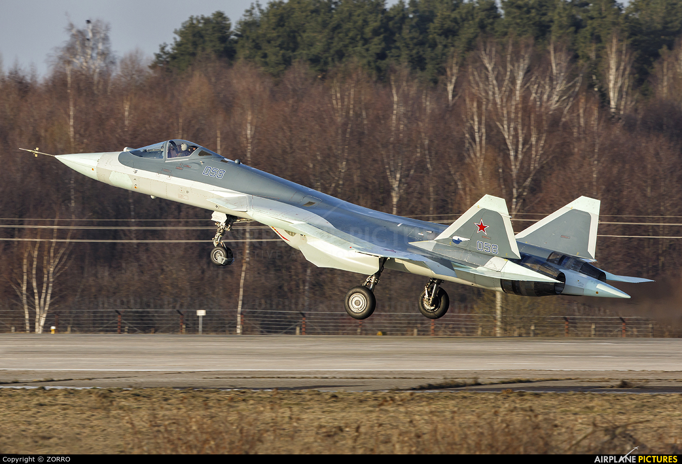Russia - Air Force 058 aircraft at Undisclosed Location