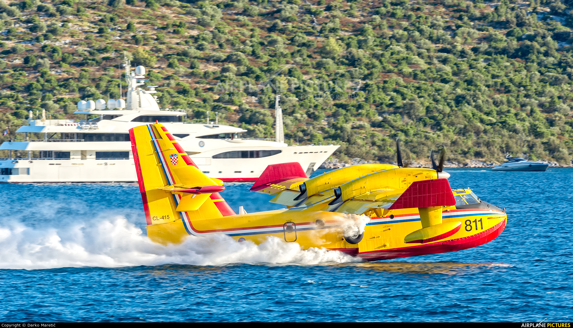 Croatia - Air Force 811 aircraft at In Flight - Croatia