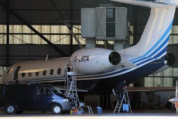G-LSCW - Private Gulfstream Aerospace G-V, G-V-SP, G500, G550