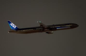 JA755A - ANA - All Nippon Airways Boeing 777-300
