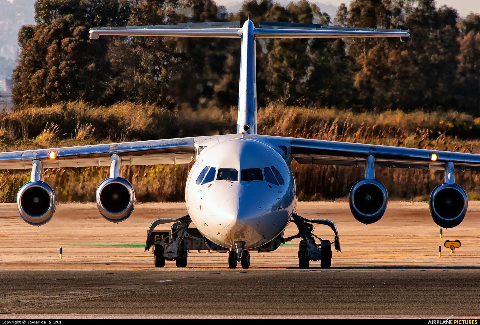 Ellinair SX-EMS aircraft at Barcelona - El Prat