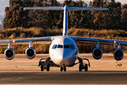 SX-EMS - Ellinair British Aerospace BAe 146-200/Avro RJ85 aircraft