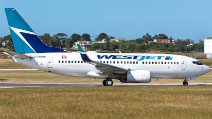 C-FUWS - WestJet Airlines Boeing 737-700