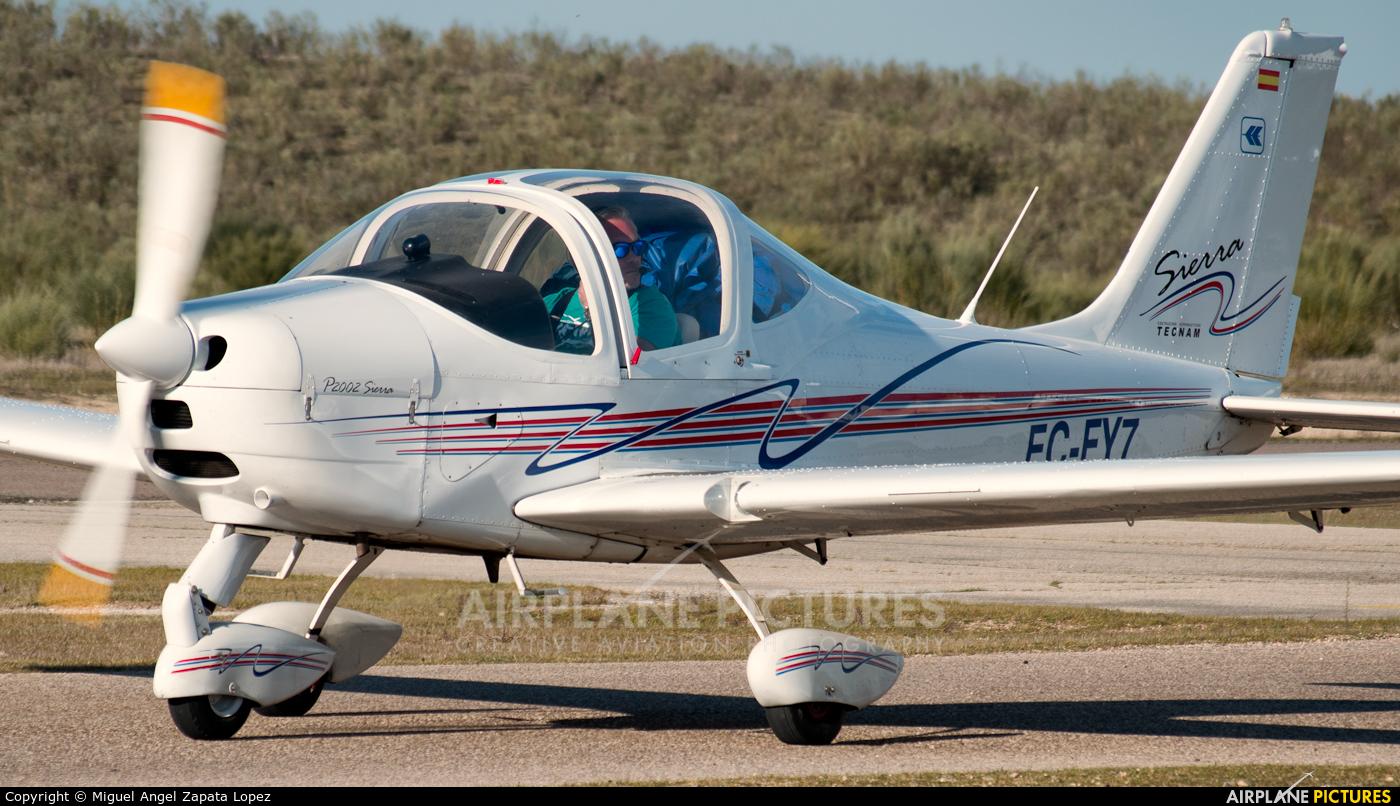 Private EC-FY7 aircraft at Casarrubios del Monte