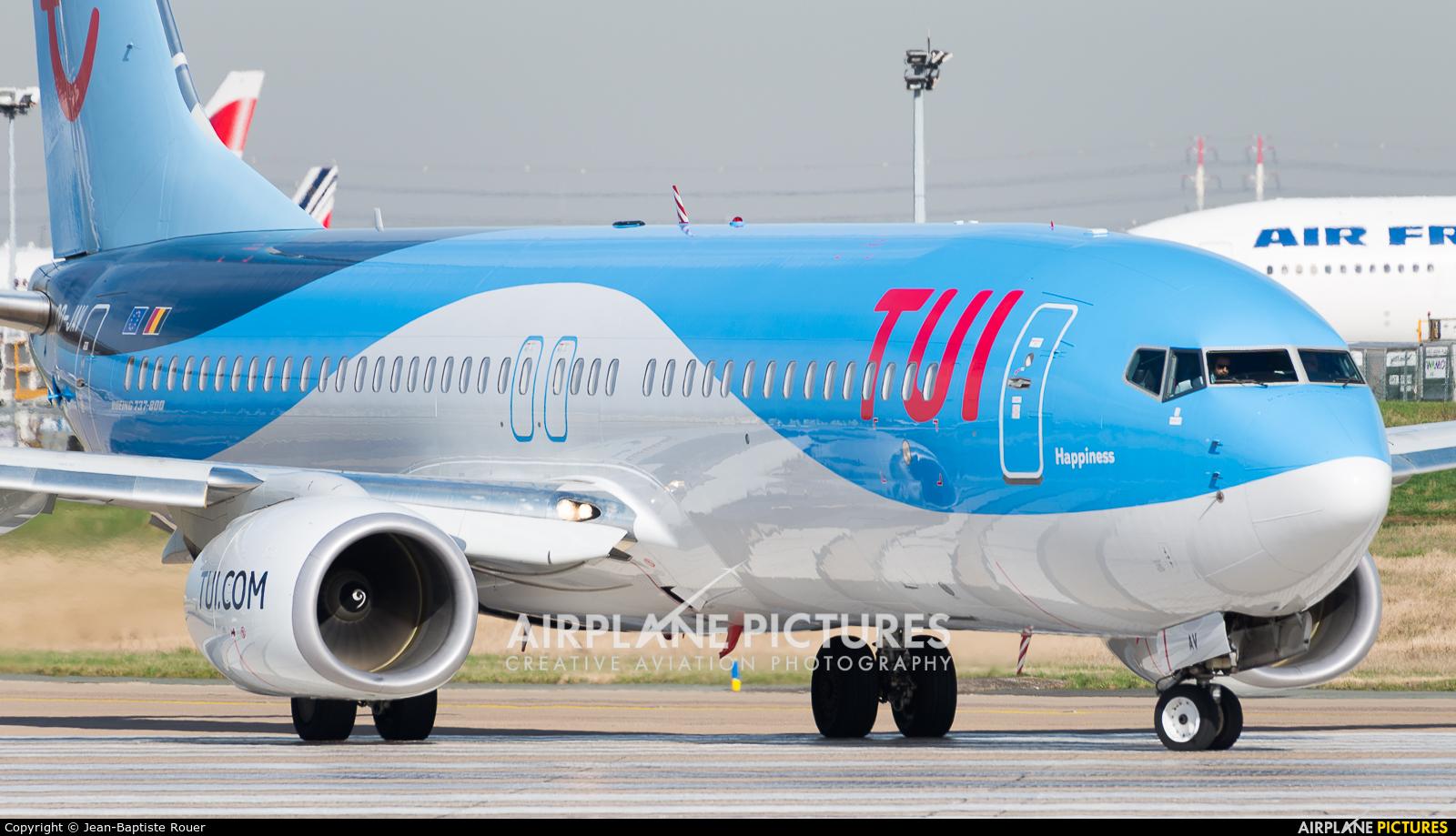 Jetairfly (TUI Airlines Belgium) OO-JAV aircraft at Paris - Orly