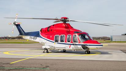 PH-EUF - CHC Netherlands Agusta Westland AW139