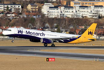 G-OZBL - Monarch Airlines Airbus A321