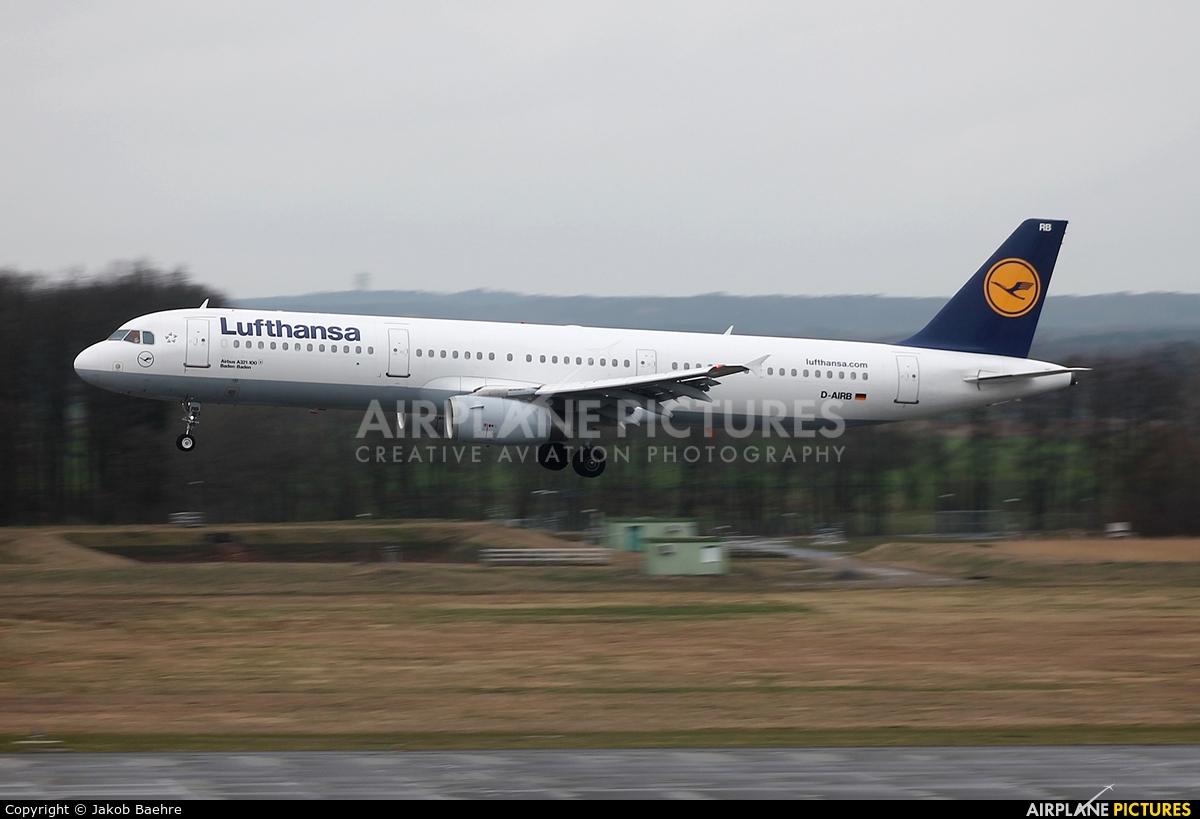 Lufthansa D-AIRB aircraft at Hannover - Langenhagen
