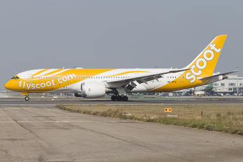 9V-OFG - Scoot Boeing 787-8 Dreamliner